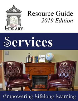 Bosler Memorial Library Resource Guide 2019 Edition Services