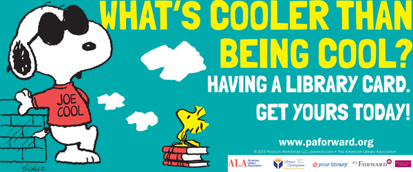 What's Cooler than Being Cool? Having a Library Card! Get Yours Today!