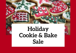 Holiday Cookie and Bake Sale