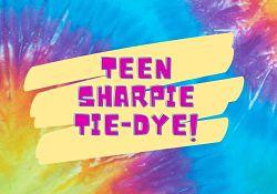Teen Sharpie Tie-Dye