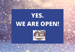 Yes We Are Open SNOW