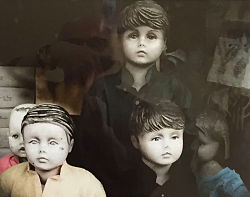 Old Delhi Mannequins by Sherry Knowlton