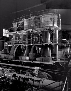 Triple Expansion Steam Engine by A. Pierce Bounds