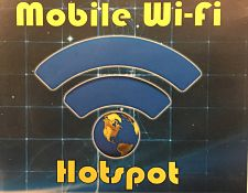 Mobile Wi-Fi Hotspots Now Available