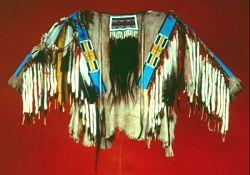 Nez Perce beaded shirt