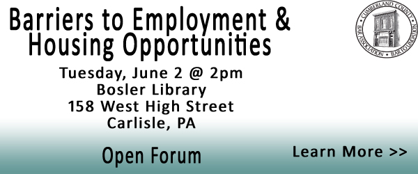 Open Forum on Barriers to Employment & Housing Opportunities