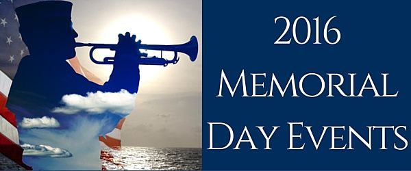 2016 Memorial Day Events