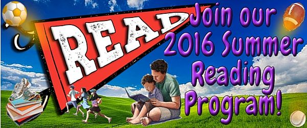 Banner - READ! Join our 2016 Summer Reading Program!