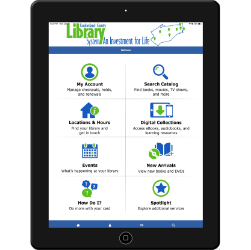 Example of Tablet with CCLS Mobile App on screen