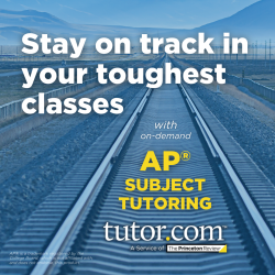 Stay on track in your toughest classes - with on-demand AP subject tutoring