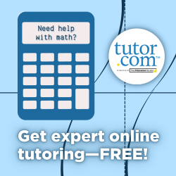 Need Help With Math? Get expert online tutoring - FREE! Go to Tutor.com