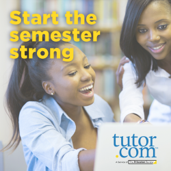 Start the Semester Strong with Tutor.com
