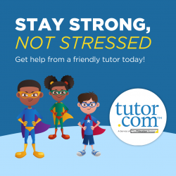 Stay Strong, Not Stressed - Get help from a friendly tutor today!