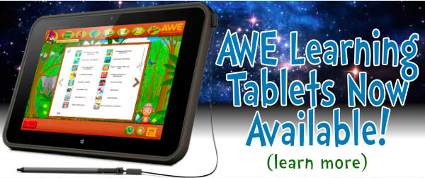 AWE Learning Tablets Now Available!