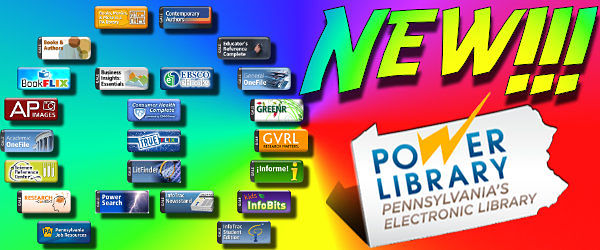 New Power Library Databases!