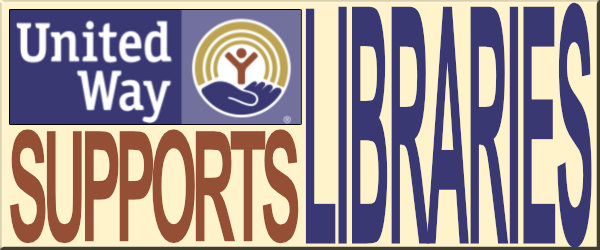 United Way Supports Libraries!