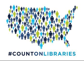 Census 2020 - #CountOnLibraries
