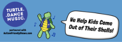 Turtle Dance Music - We Help Kids Come Out Of Their Shells