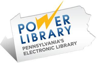 PA Power Library Logo (visit PowerLibrary.org for info)