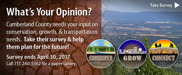 What's your opinion? Cumberland County needs your input! Take survey