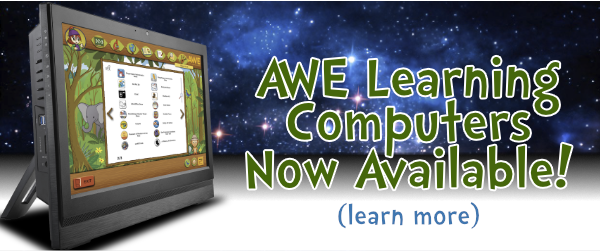 AWE Learning Computers Now Available!