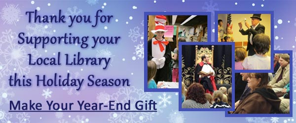 Make your Year-End Gift to the Cumberland County Library System Foundation
