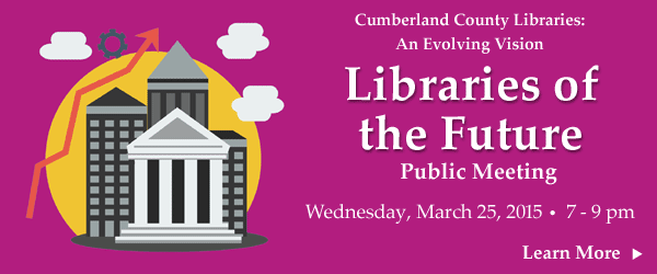 Library Services and Roles in the Future - Public Meeting