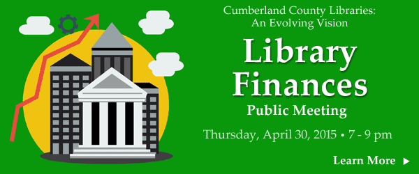 Public Library Funding - Public Meeting