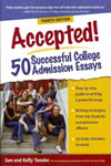 Find it at your library: Accepted! 50 Successful College Admission Essays