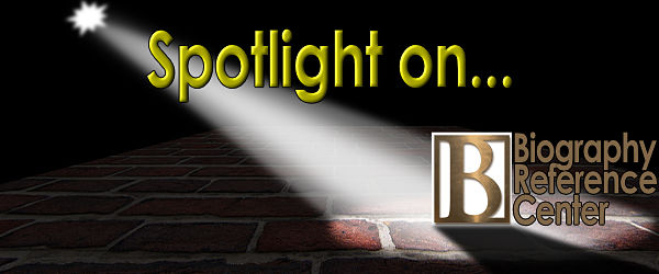 Banner image of Spotlight on Biography Reference Center Database