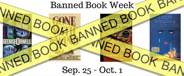 Banner image : Banned Book Week September 25 - October 1