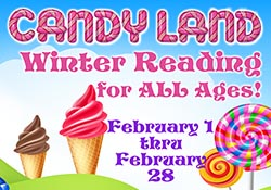 Candy Land Winter Reading