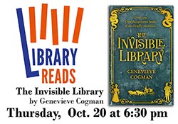 "Cover of ""The Invisible Library"""