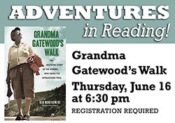 "Cover of book ""Grandma Gatewood's Walk"""