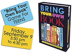 "image of ""Bring Your Own Book"" game"