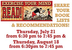 Exercise Your Mind: Read