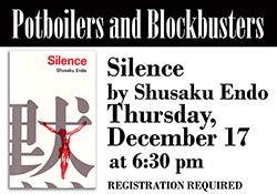 Book cover of Shusaku Endo's Silence