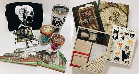 closeup of items
