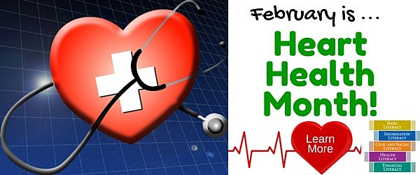 February is Heart Health Month - Learn More