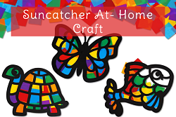 Butterfly, Turtle and Fish Suncatchers