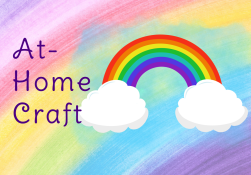 Rainbow with At Home Craft