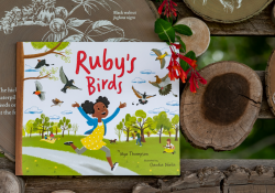 Cover of book Ruby's Birds