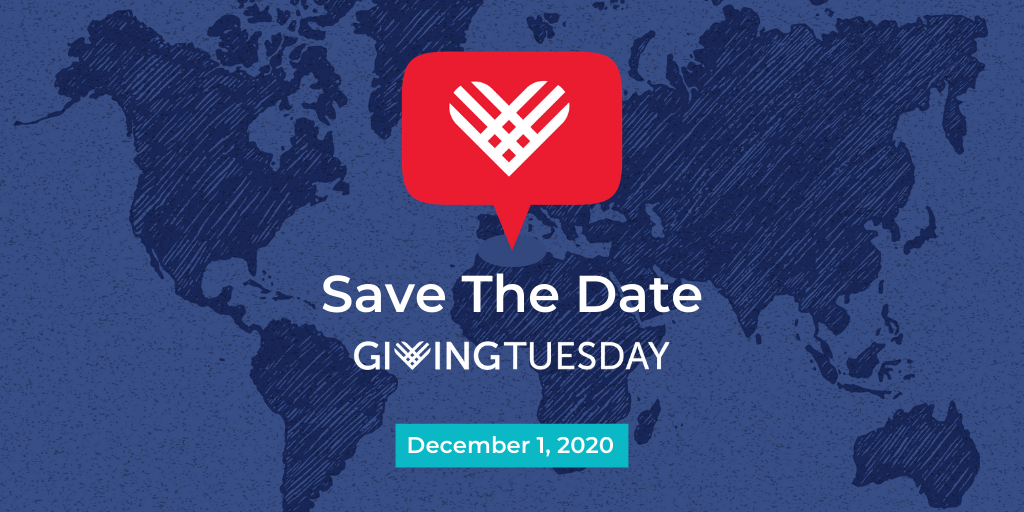 Giving Tuesday - December 1st, 2020