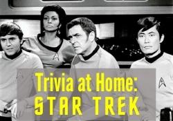 Trivia at Home: Star Trek