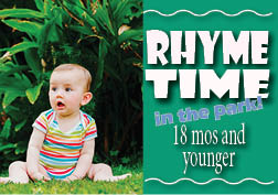 Rhyme Time in the park