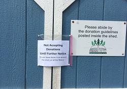 No donations