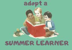 adopt  a summer learner