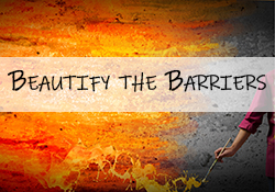 Beautify the barriers