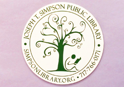 Simpson Library Magnet