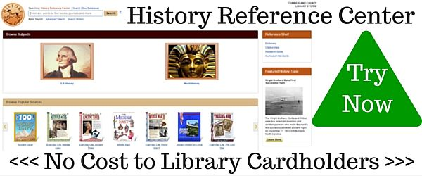 History Reference Center - Opens in new window